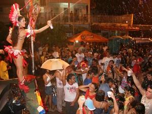 Belém carnaval com jambu  (Foto: Cristino Martins/O Liberal)
