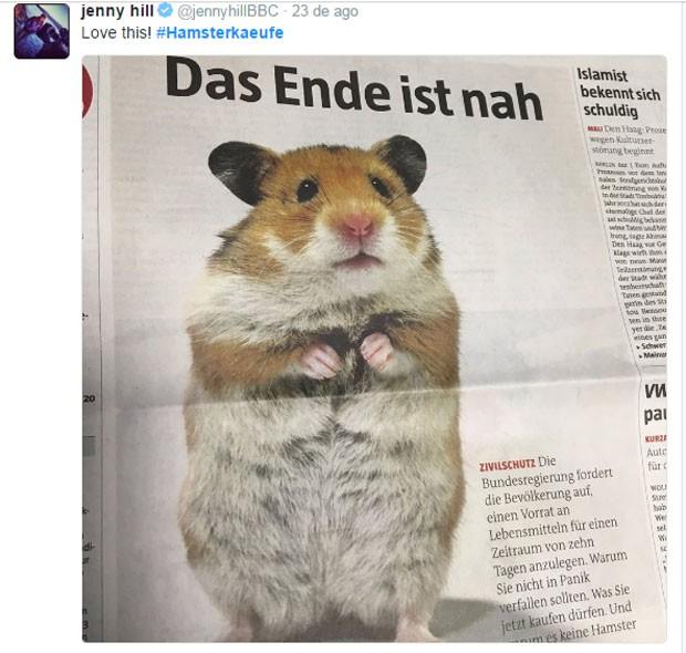 Hamsterkäufe Meme