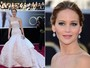 Vestido tomara que caia  o favorito das famosas no Oscar 2013