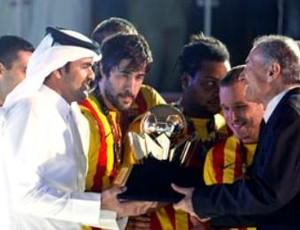 Barcelona Campeão Mundial Handebol (Foto: Divulgação/ IHF Super Globe)