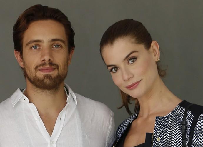Alinne Moraes e Rafael Cardoso interpretam Lívia e Felipe na ficção (Foto: Fábio Rocha/Gshow)