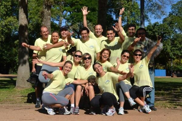 Turma do CorreRia treinou muito para participar da Maratona Internacional de Porto Alegre (Foto: Divulgação, RBS TV)