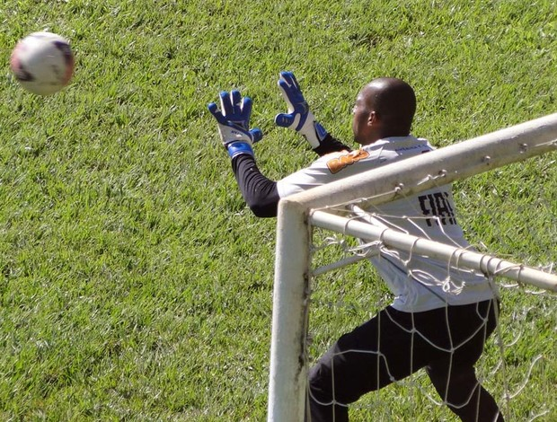 Goleiro Neneca, do Am&#233;rica-MG (Foto: Ana Paula Moreira / Globoesporte.com)