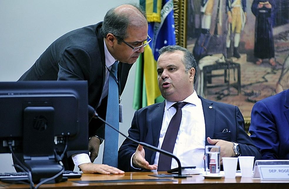 Deputado Rogério Marinho apresenta parecer sobre reforma trabalhista (Foto: Alex Ferreira / Câmara dos Deputados)