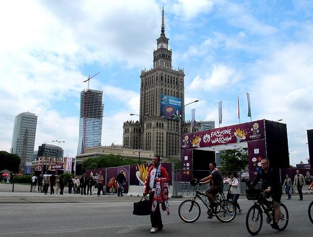 vársovia polônia eurocopa 2012 (Foto: Marcos Felipe / Globoesporte.com)