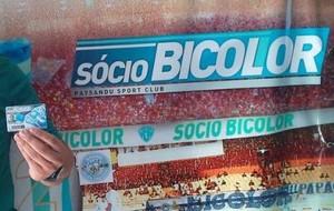 Thiago Moraes Xavier é o sócio de número cinco mil do Paysandu (Foto: Ascom/Paysandu)