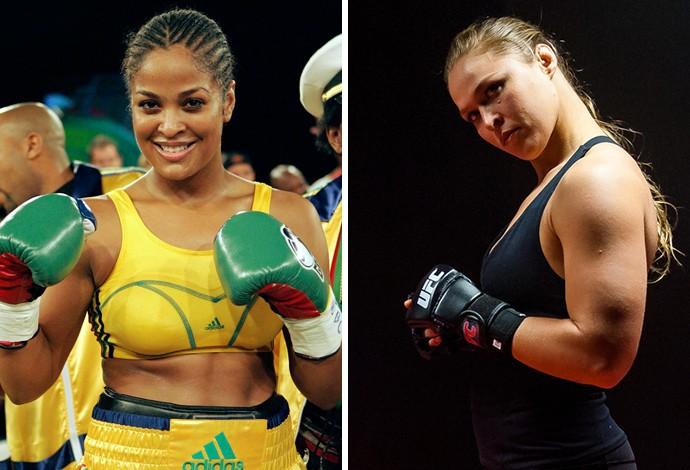 Laila Ali e Ronda Rousey