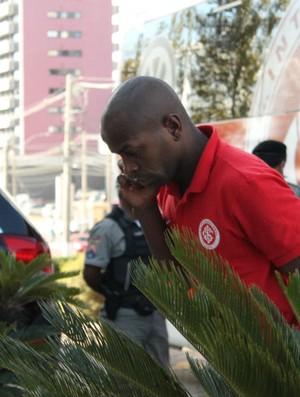 Sandro Silva, em Caxias do Silva (Foto: Diego Guichard/GLOBOESPORTE.COM)