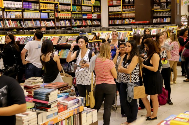 Fernanda Gentil lança seu livro  (Foto: Manuela Scarpa/Brazil News)