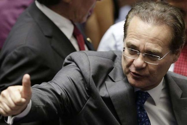 Renan Calheiros, presidente do Senado  (Foto: Minervino Junior / CB / D A Press )
