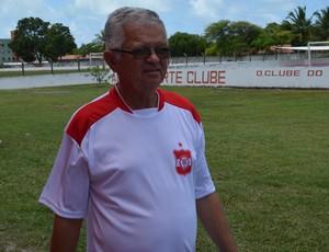 Manoel Demócrito, presidente do Auto Esporte.  (Foto: Amauri Aquino / GloboEsporte.com/pb)