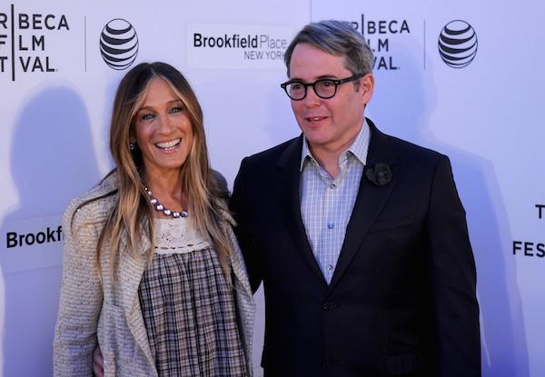 A atriz Sarah Jessica Parker e seu marido, o ator Mathew Broderick (Foto: Getty Images)