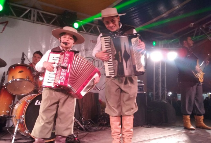 Irmãos Machado Thomas Machado The Voice Kids (Foto: Arquivo Pessoal)