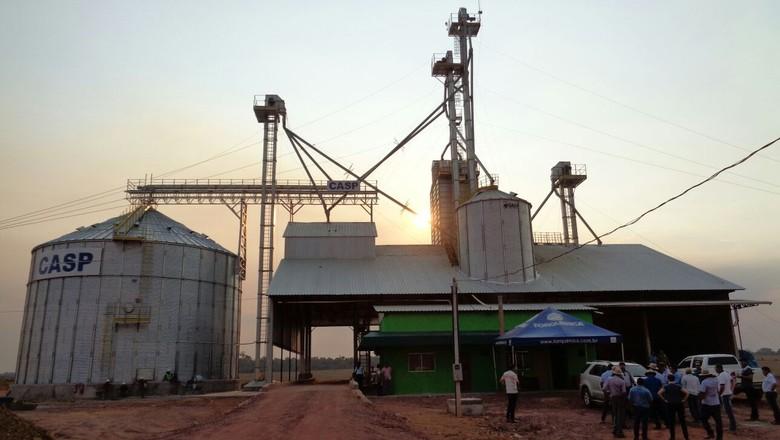 silo-armazenagem-rondonia (Foto: Raphael Salomão/Ed. Globo)