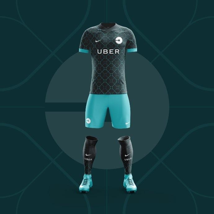 42bd713459796 Site de design cria camisas de futebol para aplicativos populares de ...