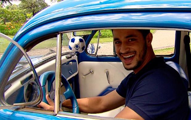 leo cruzeiro (Foto: Marco Antônio Astoni/Globoesporte.com)