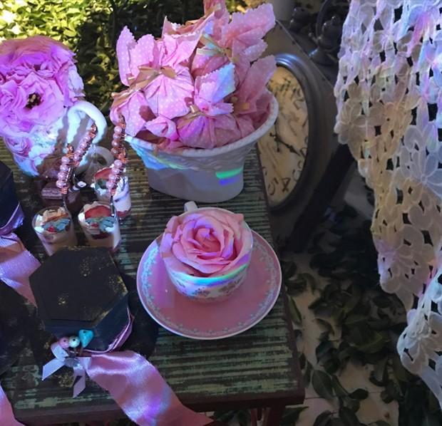 Decoração do aniversário da Isabella Santoni (Foto: Reprodução/ Instagram)