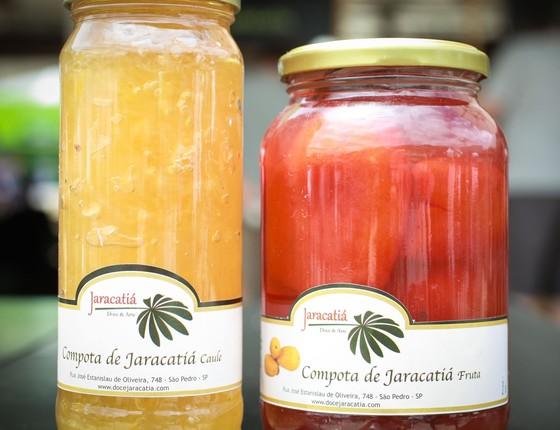 A fruta do jacaratiá ficou conhecida como tâmara brasileira (Foto: Patricia Stavis/ ÉPOCA)