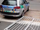 Preso por filmar voto, jovem foge e derruba portão de delegacia (Reprodução/ Polícia Civil)