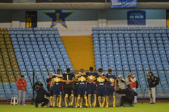 Boca Juniors Bombonera vazia (Foto: EFE/Juan Ignacio Roncoroni)