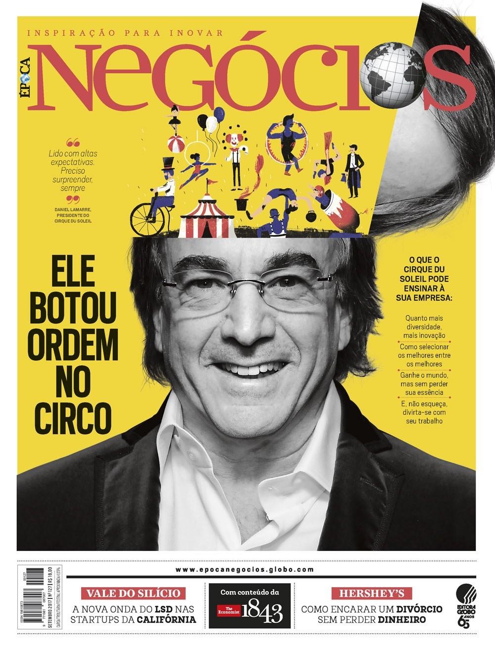 Edição de Época NEGÓCIOS de setembro de 2017 (Foto: Época NEGÓCIOS)
