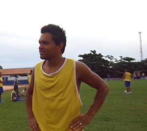 Fábio Bala foi artilheiro do Interporto em 2013 (Foto: Vilma Nascimento/GloboEsporte.com)