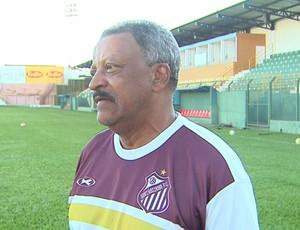 José Carlos Serrão, técnico do Sertãozinho (Foto: Reprodução EPTV)