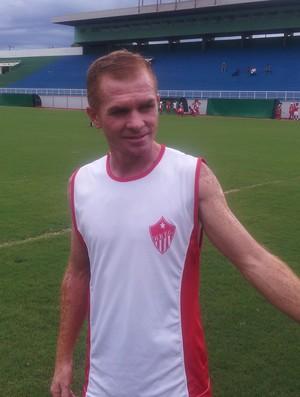 Ananias, lateral-esquerdo do Rio Branco-AC (Foto: João Paulo Maia)