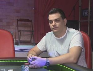 Caio Hey,  jogador de poker de RO (Foto: Reprodução/ TV Rondônia)