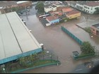 Pelo 3º dia, chuvas alagam três avenidas do Centro de Piracicaba