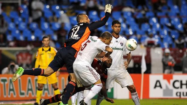 diego cavalieri fluminense x flamengo   (Foto: André Durão/Globoesporte.com)