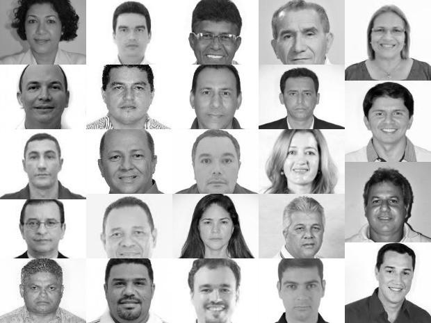 Deputados staduais eleitos no Acre (Foto: Divulgação TSE)