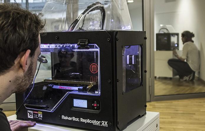 Impressora Scotty teletransporta objetos físicos entre as máquinas (Foto: Divulgação/Scotty)
