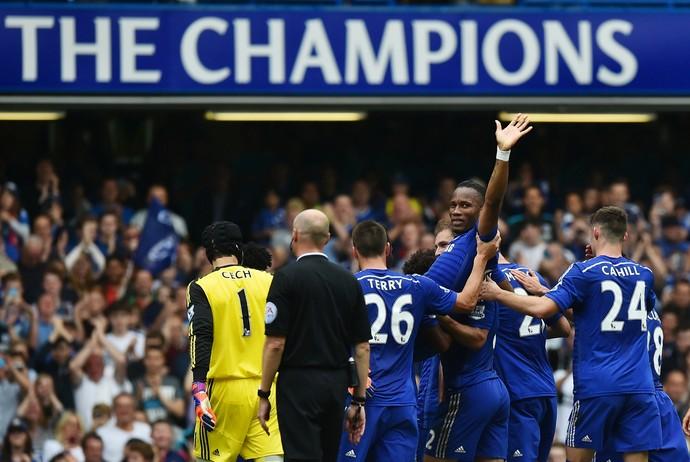 Despedida Drogba Chelsea (Foto: AFP)