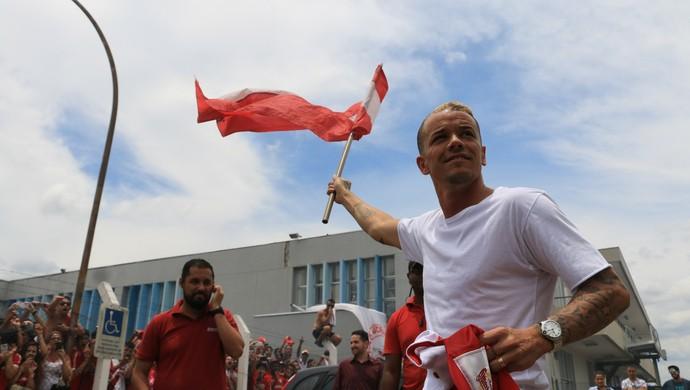 D'Alessandro; Inter Porto Alegre (Foto: Eduardo Deconto/GloboEsporte.com)