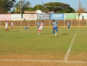 Jogo entre Rolim de Moura e Colorado pelo Sub-20 (Foto: Rogério Aderbal)