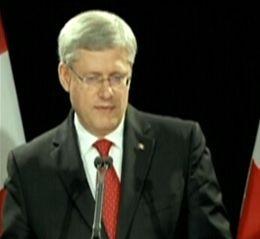 GNews - primeiro-ministro do Canadá, Stephen Harper (Foto: GloboNews)