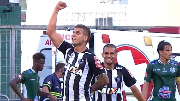 Rafael Moura; Atlético-MG (Foto: Reprodução/ TV Globo MInas)