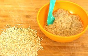Papinha de quinoa