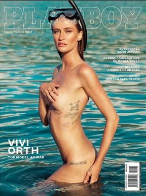 Vivi Orth na capa de maio da Playboy (Foto: Divulgação/André Passos)