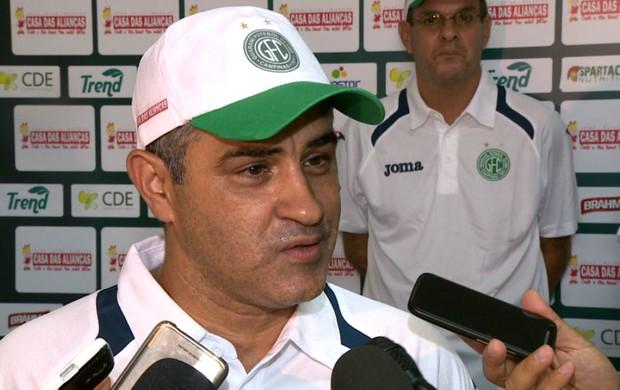 Marcelo Chamusca, técnico, Guarani