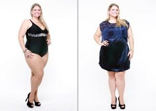 Vanessa Pichinin - Plus Size  (Foto: Max Oliveira / LT3 Studios)