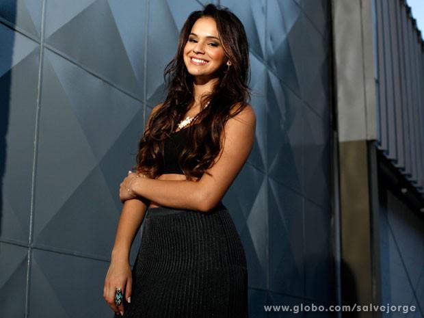 Bruna Marquezine fala sobre o desafio de interpretar Lurdinha (Foto: Salve Jorge/TV Globo)