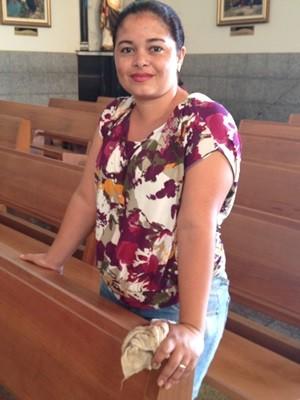 Marilene diz que voluntariado é sua forma de agradecer pelas bênçãos (Foto: Fernanda Borges/G1)