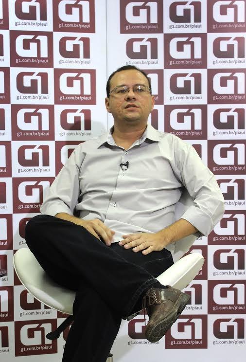 Daniel Solon é o candidato a governador do Piauí pelo PSOL (Foto: Jaqueliny Siqueira/G1)
