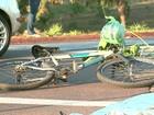 Ciclista morre após ser atingido por moto em Ribeirão Preto, SP