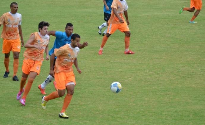 Atibaia x Bragantino jogo-treino (Foto: Filipe Rodrigues)