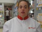 'Realizei o sonho de trabalhar', diz jovem de Campinas com Down