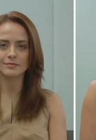 Juliana Silveira coloca megahair; veja vídeo