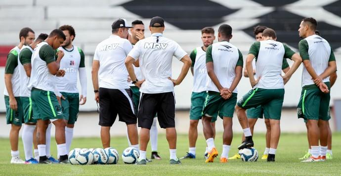 Santa Cruz treino (Foto: Marlon Costa / Pernambuco Press)